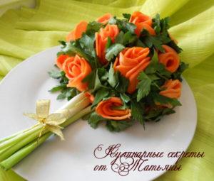 салаты на 8 марта салат букет