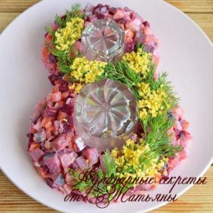 салаты на 8 марта салат с селедкой