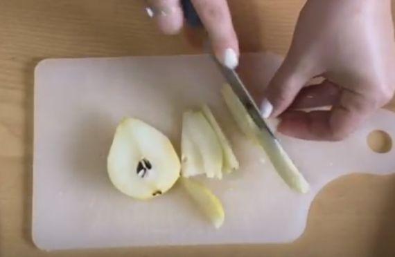 выпечка с грушей