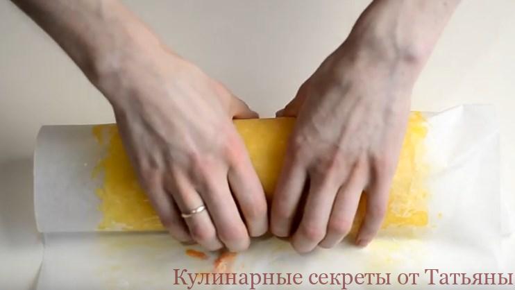 салат рулет мимоза