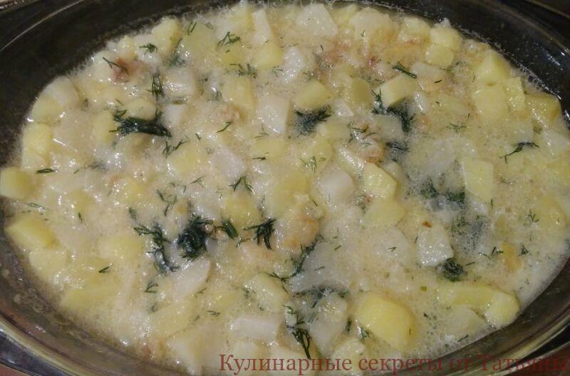 картофельная запеканка в духовке с сыром