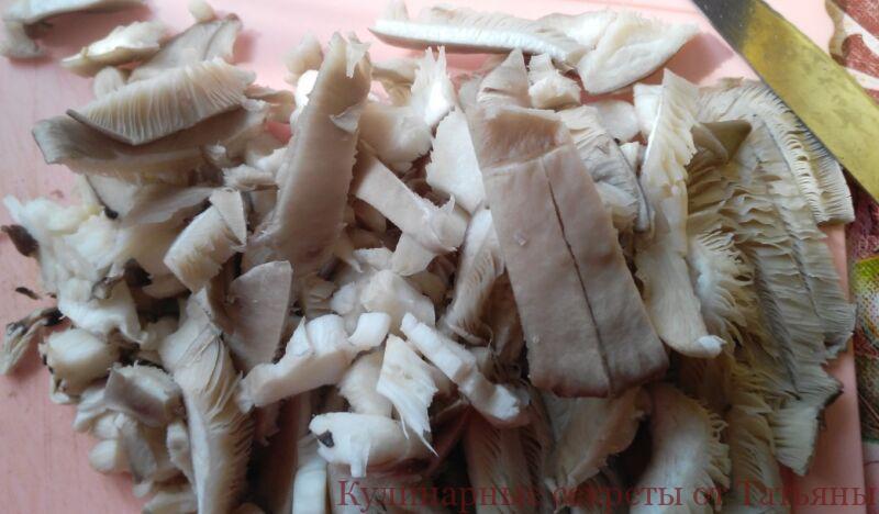 запеканка с фаршем и грибами