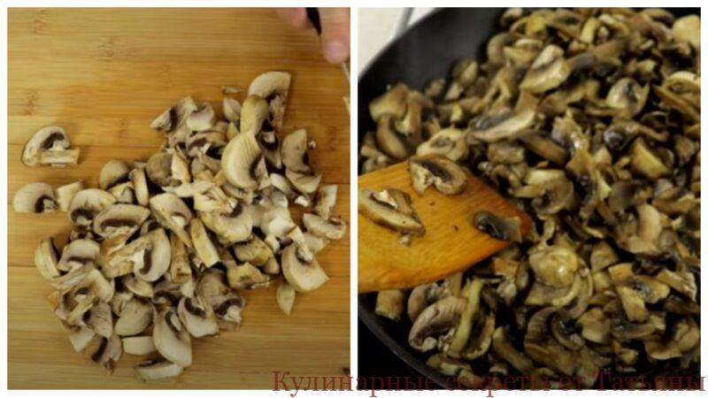 картошка с мясом и грибами в духовке в горшочках