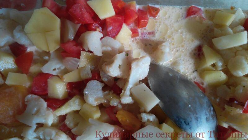 запеканка из цветной капусты в духовке